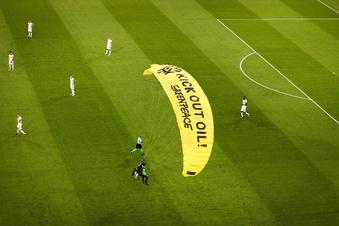 EM-Aktion: Massive Kritik an Greenpeace