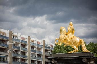 Neustädter Markt: So marode ist Dresdens neues Denkmal