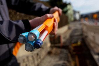 Enso verlegt Glasfaser in Lampertswalde