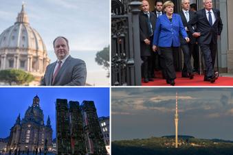Morddrohungen und Vatikan-Besuche - was Dirk Hilbert alles erlebte