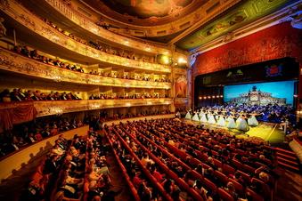 Dresdner Opernball in St. Petersburg