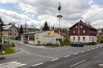 Schutz für Sadisdorf, die B170 und die Bahn