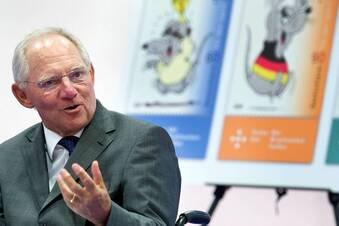 Schäuble muss die Mäuse hüten