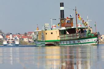 Dresdner Dampfer: Havarie mit 80 Fahrgästen an Bord