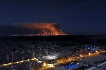 Weiterhin Brände bei Tschernobyl
