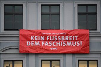 Demo gegen Pegida in Dresden