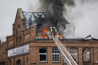Und wieder brennt's in der Görlitzer Gewerbehalle