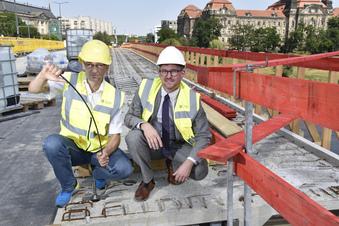 Dresdner Carolabrücke erst 2021 wieder frei