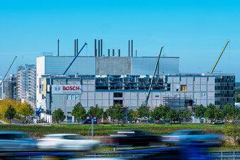 So geht es auf der Bosch-Baustelle voran