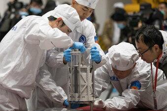 China will Mondproben teilen