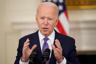 """Biden setzt USA """"ehrgeiziges"""" Klimaziel"""