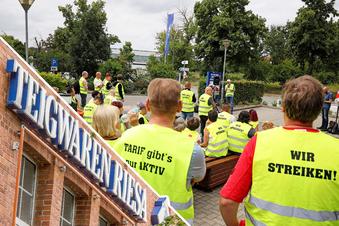 Riesaer Teigwaren-Streik kommt in den Regalen an