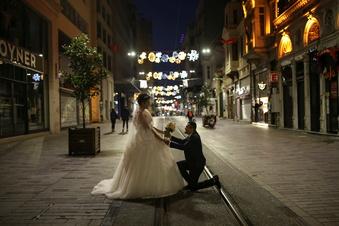 Paare in Sachsen zögern mit Ja-Wort
