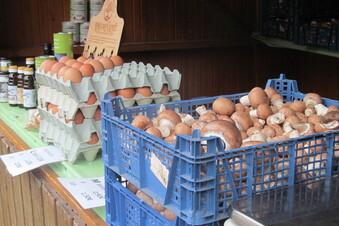 Naturmarkt Tharandt bietet Regionales an