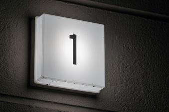 Hausnummern müssen schnell erkennbar sein
