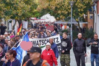 Linke demonstrieren gegen Corona-Gegner