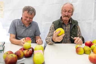 Was für ein seltener Apfel