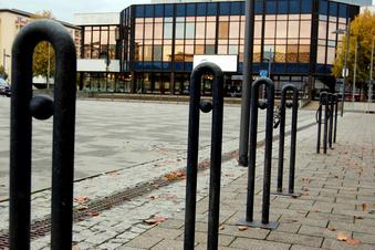 Lausitzer Platz bekommt mehr Fahrradständer