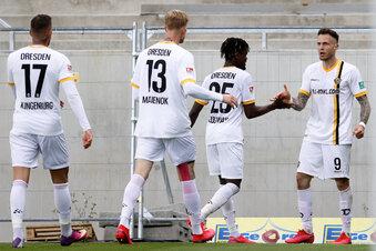 Dynamo spielt mit zwei Teams im Abstiegskampf