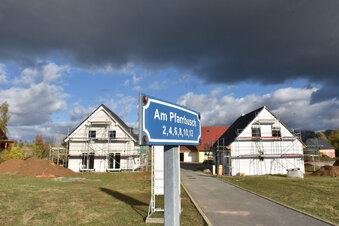 Platz für Eigenheime in Colmnitz wird knapp