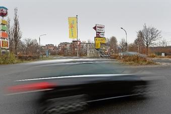 Kreisverkehr an der Meißner Straße geplant