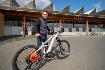 Fahrradkette richtet Sachsen-Zentrale in Coswig ein