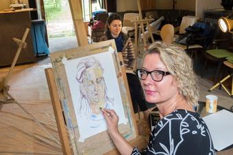 Was Künstler in Jahnishausen treiben