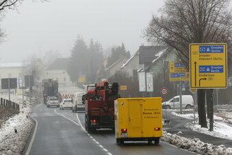 B 97 wird in Laußnitz voll gesperrt