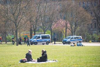 Corona: Dresden diszipliniert sich