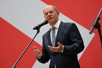 SPD-Kanzlerkandidat spricht Ampelkoalition an