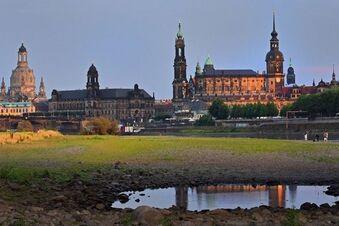 Elbe-Wasserstand sinkt weiter