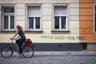 In Dresden steigen die Mieten - und der Leerstand