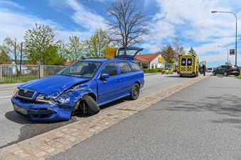 Bautzen: Fünf Verletzte bei Verkehrsunfall