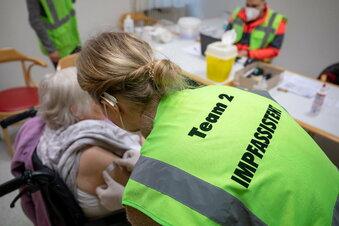 Fast alle Pflegeheim-Bewohner in Sachsen geimpft