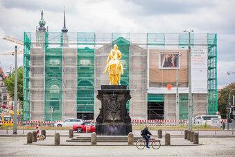 Dresden: Blockhaus ohne Dach
