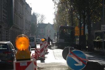 Pirnaer Gorkistraße wird erneut gesperrt