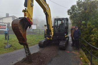 Bau der Trinkwasserleitungen kommt voran