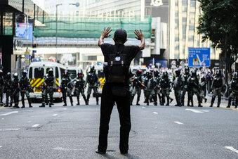 Hongkong: 70-Jähriger stirbt bei Protesten