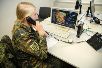 Soldaten beenden Einsatz im Gesundheitsamt Meißen