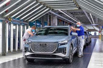 Der erste Audi aus Zwickau feiert Weltpremiere