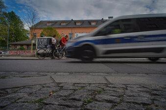 Drogen-Kontrollen in Dresdner Neustadt