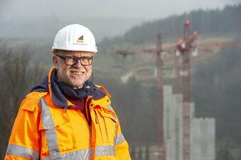 Südumfahrung Pirna: Der Brückenbauer
