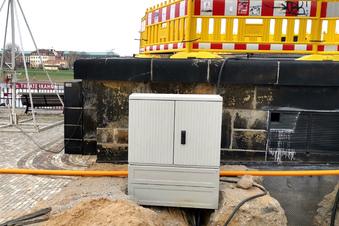 Drewag ersetzt abgebrannten Stromkasten