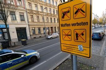 Fast 190 Polizeieinsätze in der Waffenverbotszone