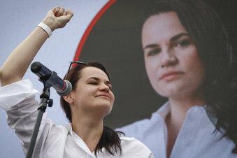 Tichanowskaja will Proteste anführen