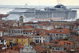 Verbot für Kreuzfahrtschiffe in Venedig