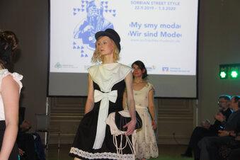Sorbische Mode auf dem Laufsteg