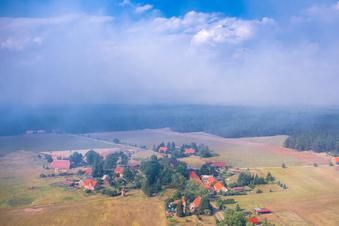 Brandgeruch zieht bis nach Sachsen