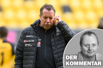 Dynamos Trainer wurde demontiert