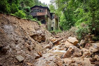 Elbsandstein: Unwetter verursachen Schäden von 70 Millionen Euro